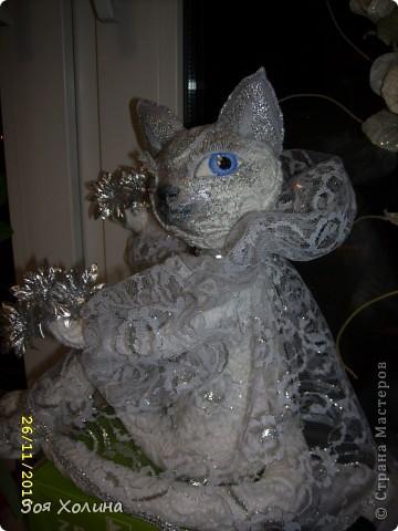 Волшебная, Сказочная, Мерцающая - Новогодняя кошечка. фото 2