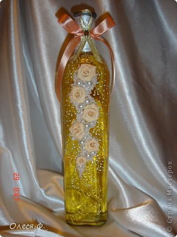 Все уже делают бутылки к Новому году, я всё никак не добирусь до этой работы.... фото 1