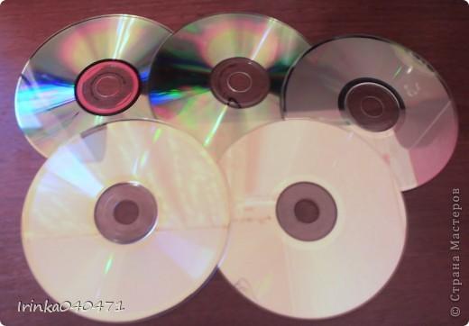 """Идею декорирования лазерных дисков техникой декупаж впервые увидела в """"Стране мастеров"""" у Александры  http://stranamasterov.ru/user/18247  фото 2"""