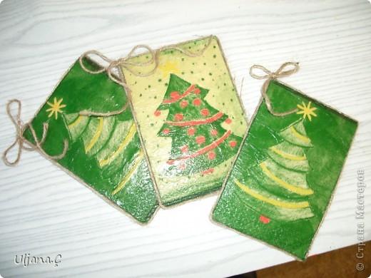 Елочки к Рождеству и Новому Году 2011 фото 1