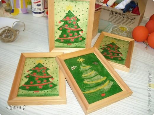 Елочки к Рождеству и Новому Году 2011 фото 2