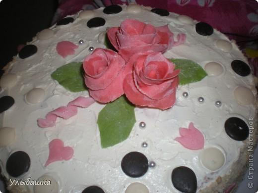Тортик Мамочке на День Рождения фото 1
