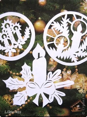 Вальс снежинок за окном, ожидание праздника и чуда - верные приметы декабря. Создать у себя дома сказочную атмосферу не так уж и сложно ,а для этого понадобятся нам свечи. Свечи самые разные- резные и восковые, в праздничном декупаже, или просто белые.  фото 1