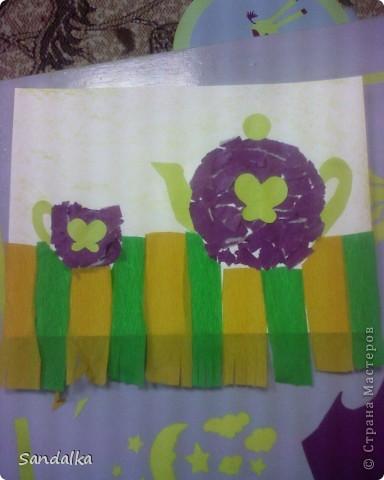 Чайник и чашечка