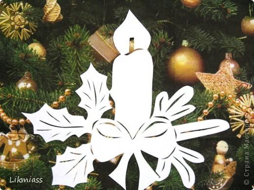 Вальс снежинок за окном, ожидание праздника и чуда - верные приметы декабря. Создать у себя дома сказочную атмосферу не так уж и сложно ,а для этого понадобятся нам свечи. Свечи самые разные- резные и восковые, в праздничном декупаже, или просто белые.  фото 7