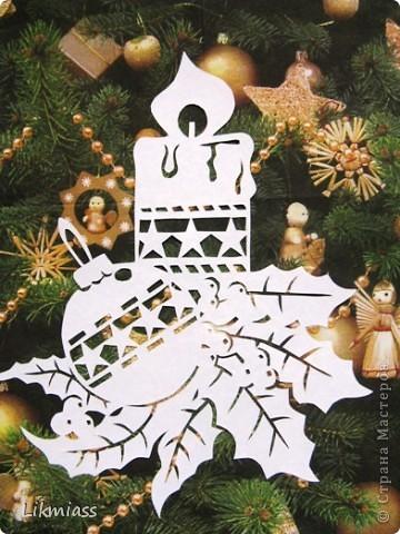 Вальс снежинок за окном, ожидание праздника и чуда - верные приметы декабря. Создать у себя дома сказочную атмосферу не так уж и сложно ,а для этого понадобятся нам свечи. Свечи самые разные- резные и восковые, в праздничном декупаже, или просто белые.  фото 8