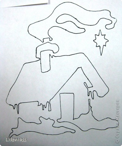 """Дым над крышей тонкой ниточкой струится, Значит будут звезды литься В темноте январской ночи. (песня """" Посвящение друзьям"""" автор Андрей Волков)  фото 5"""