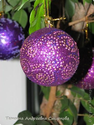 Декор новогодних шаров: варианты