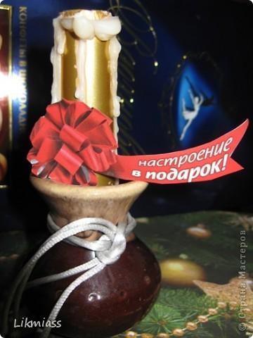 Вальс снежинок за окном, ожидание праздника и чуда - верные приметы декабря. Создать у себя дома сказочную атмосферу не так уж и сложно ,а для этого понадобятся нам свечи. Свечи самые разные- резные и восковые, в праздничном декупаже, или просто белые.  фото 15