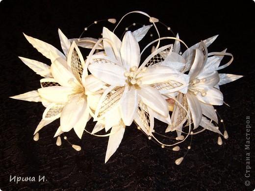 Свадебные украшения для волос фото 1