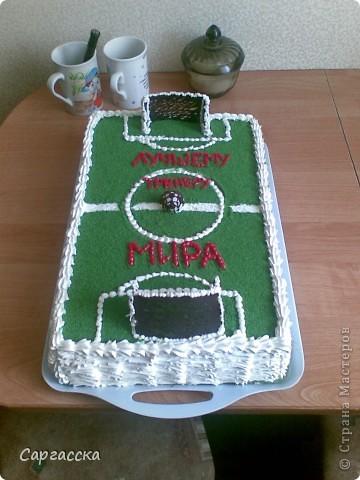 Этот торт для моего сынули фото 4