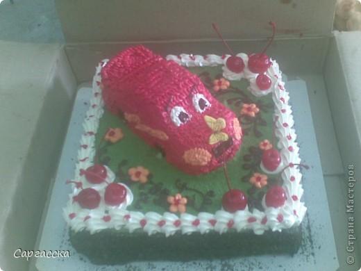 Этот торт для моего сынули фото 1