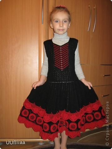 Платье испанской танцовщицы фото 1