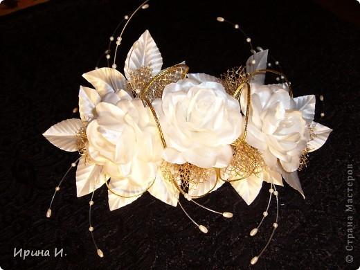 Свадебные украшения для волос фото 4