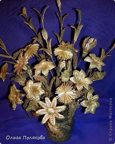 Соломенные бабочки-цветочки.  Ещё одно направление моего соломоплетельного творчества. фото 2