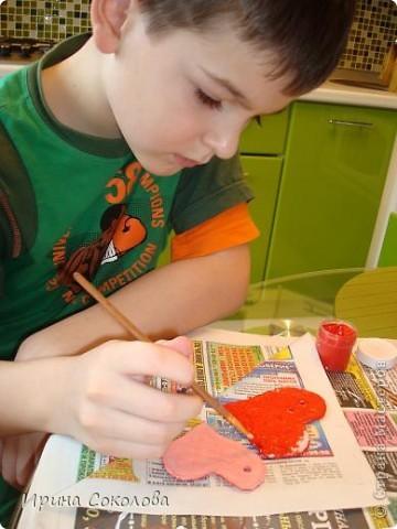 Вот такие игрушки на ёлочку мы сделали с 9-летним сыном. фото 7
