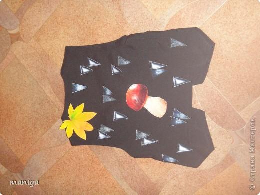 Мастер-класс Новый год Аппликация Шитьё костюм ежика - делаем за вечер  Бумага Листья Мех Овощи фрукты ягоды фото 8