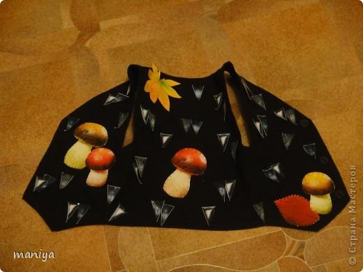 Мастер-класс Новый год Аппликация Шитьё костюм ежика - делаем за вечер  Бумага Листья Мех Овощи фрукты ягоды фото 10