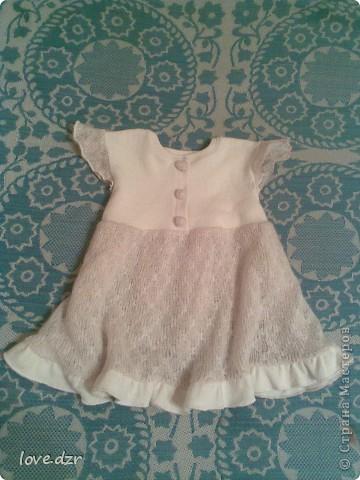 Платье для маленькой девочки фото 1