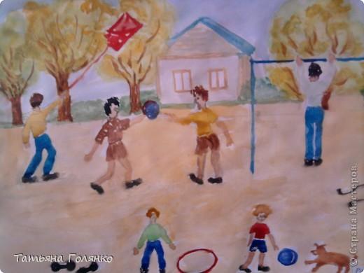 рисунок ученицы 6 класса Дечиновой Галины фото 5