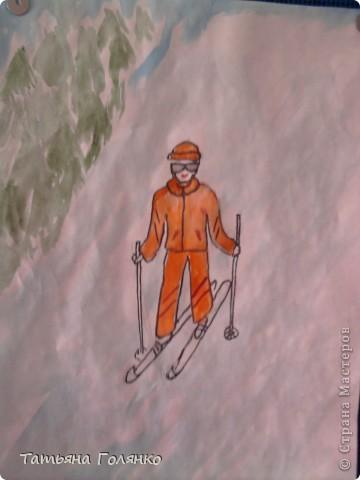 рисунок ученицы 6 класса Дечиновой Галины фото 6