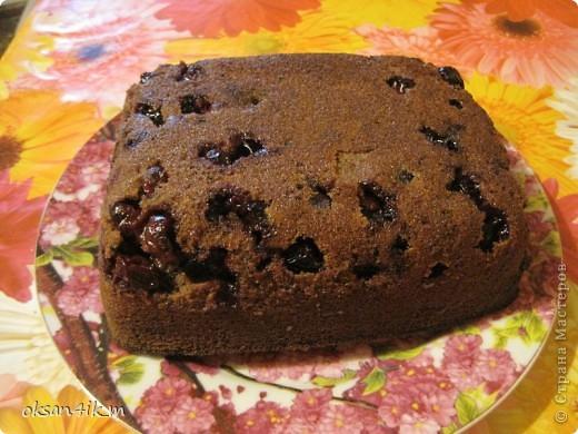 Сочетание вишни и шоколадного бисквита ....ну ооочень вкусно! фото 12