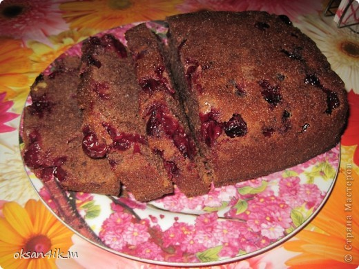 Сочетание вишни и шоколадного бисквита ....ну ооочень вкусно! фото 1
