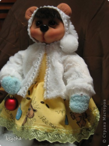 А вот и Машуня-мишка))) фото 3