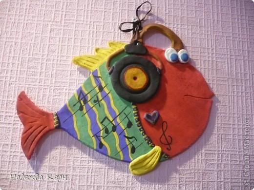 Музыкальная Рыбёшка)))