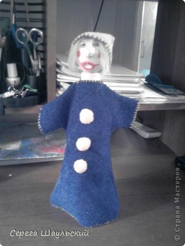 Мой петрушка для кукольного театра фото 1