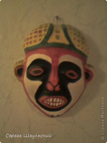 Моя африканская маска