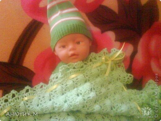 Плед для моей младшенькой дочурки фото 3
