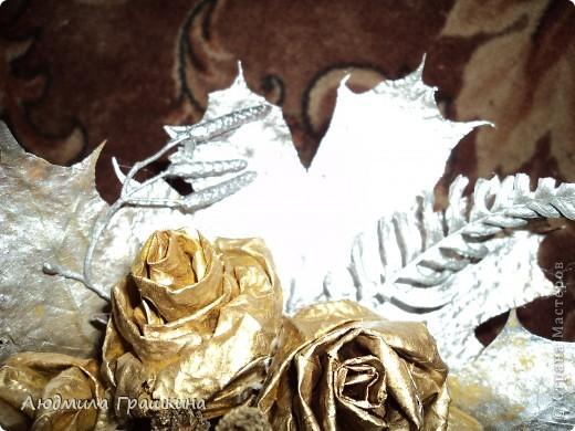 снова букетики из кленовых листочков фото 4