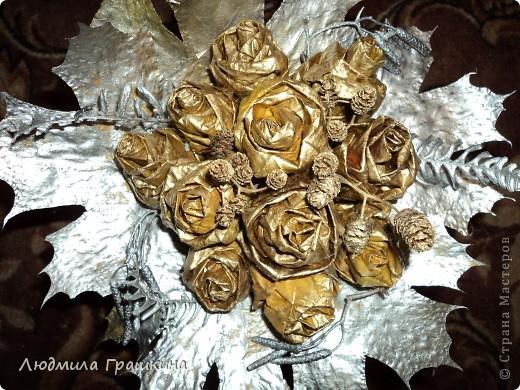 снова букетики из кленовых листочков фото 3