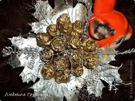 снова букетики из кленовых листочков фото 2