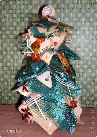 Текстильная елочка фото 9