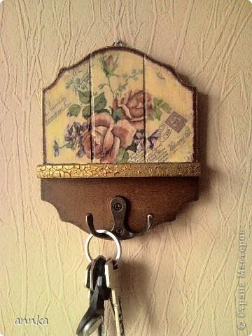 Это моя первая ключница... фото 1