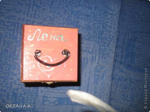 Вот такую шкатулочку для украшений мы росписали красками вместе со старшей дочкой. фото 6