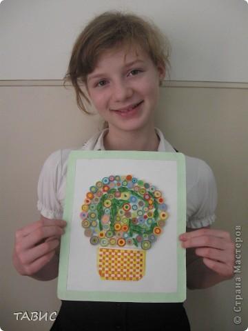 Первая самостоятельная работа моей ученицы Ксюши (6 класс). фото 3