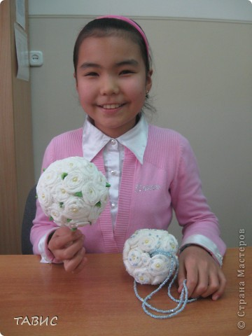 Это - изысканная работа моей ученицы-шестиклассницы Нурзоды. Девочка еще маленькая, а  талант у нее большой! фото 2
