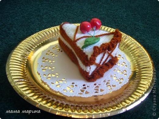 связала пироженое  фото 2