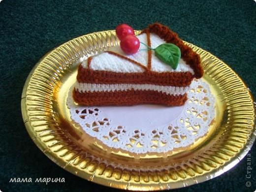 связала пироженое  фото 1