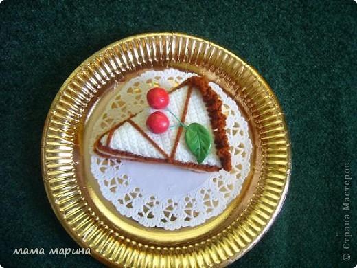 связала пироженое  фото 3