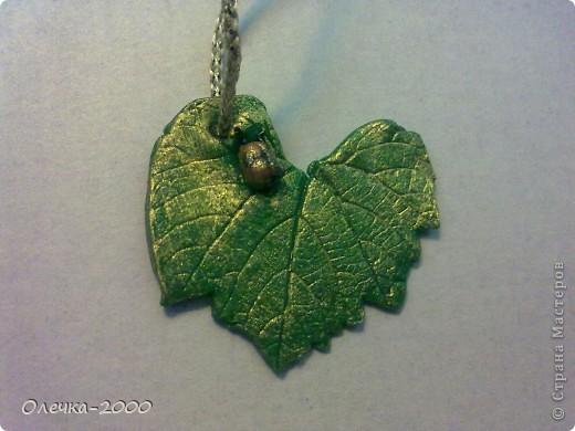 кулон в форме сердца фото 4