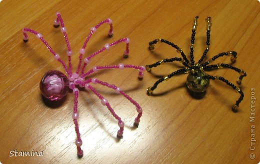 Бисероллетение паук