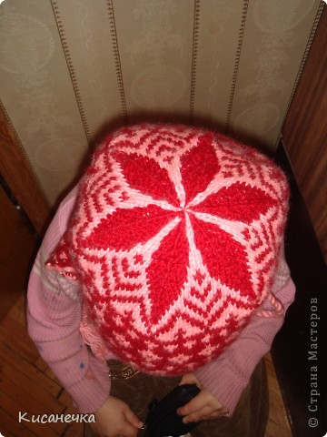 Вот такая зимняя шапочка фото 3