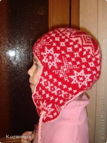 Вот такая зимняя шапочка фото 2