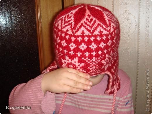 Вот такая зимняя шапочка фото 1