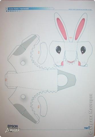 Возможно, кому-то пригодится идея создания такой поделки в связи с грядушим годом кролика :-) фото 3