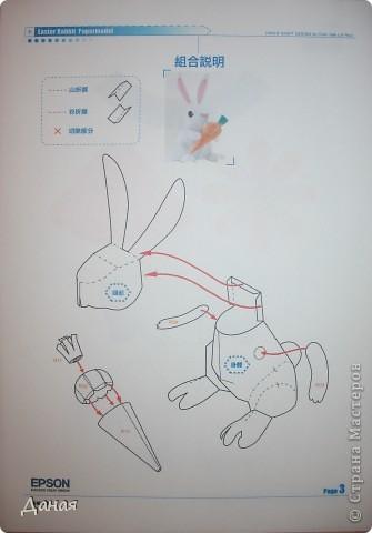 Возможно, кому-то пригодится идея создания такой поделки в связи с грядушим годом кролика :-) фото 5